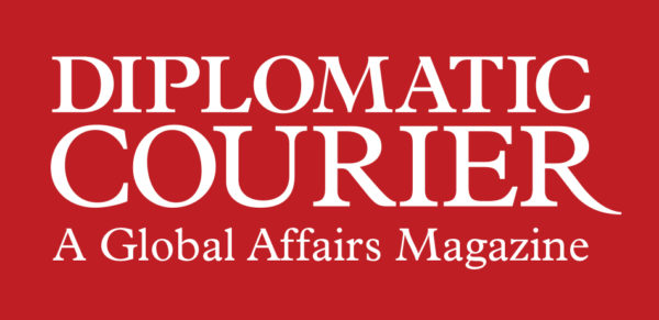 logo of diplomatic courier magazine