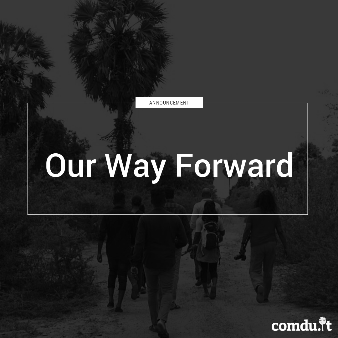 Our way Forward